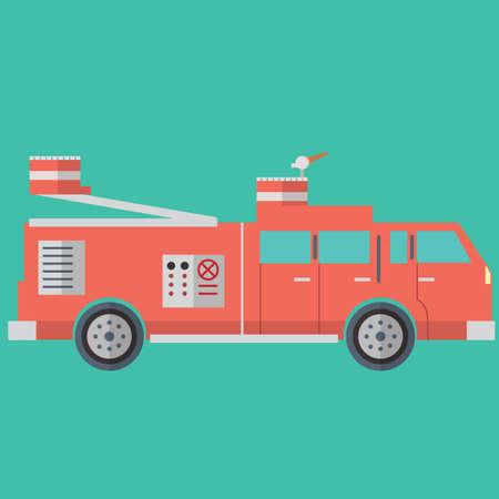 emergency engine: fire engine