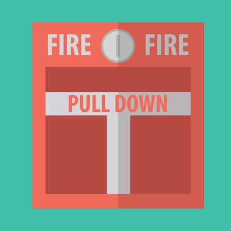 glass break: fire alarm