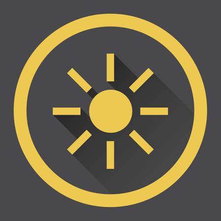 brightness: brightness button