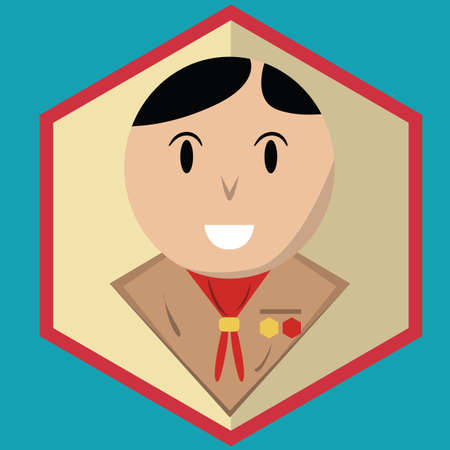 scout: scout boy Illustration
