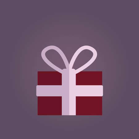nuptials: gift box Illustration