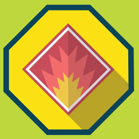 flammable: flammable sign