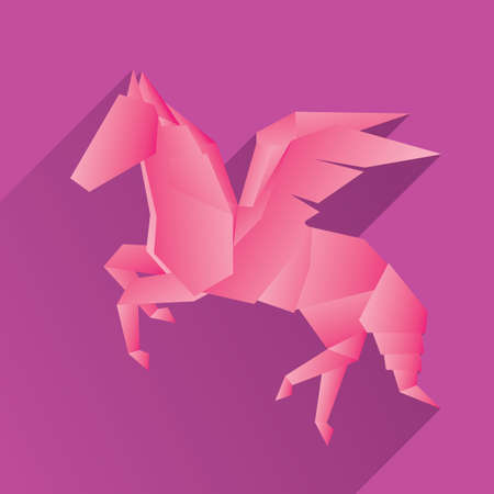 Origami Horse Royalty Free Cliparts Vectors And Stock Illustration