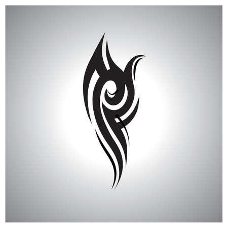 tattoo design: decorative tattoo design Illustration