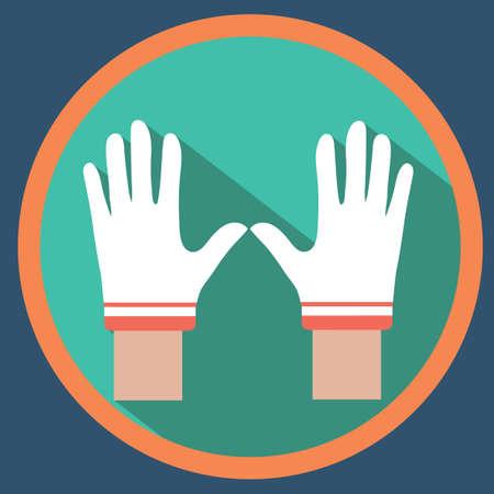 racing: racing gloves Illustration