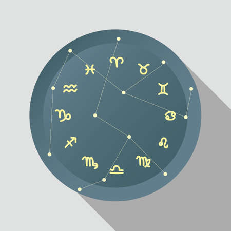 pisces star: horoscope icons