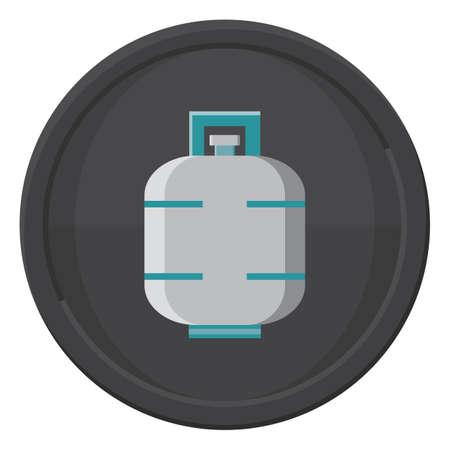 cilindro de gas: Cilindro de gas