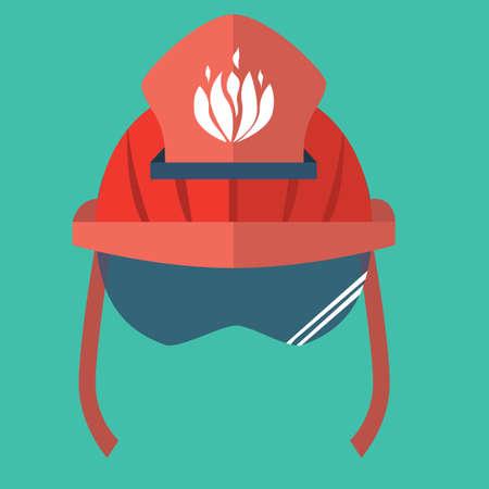 safety belts: fire helmet