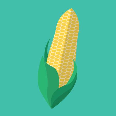 corn flower: corn