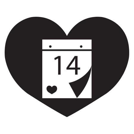 almanac: valentines date calender