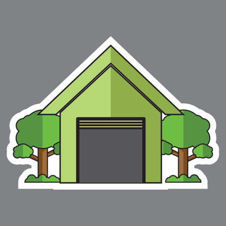 garage on house: house with garage