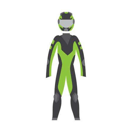 racer: motor racer suit
