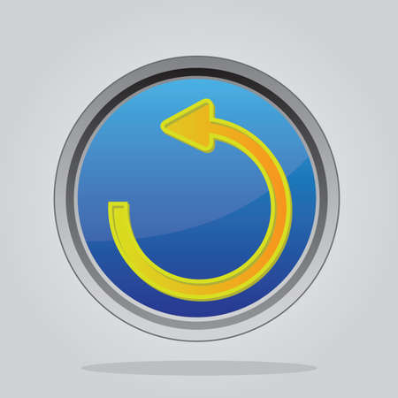 undo: undo button Illustration