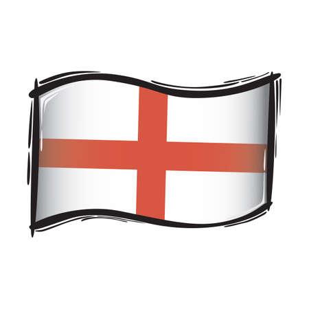 flag: england flag