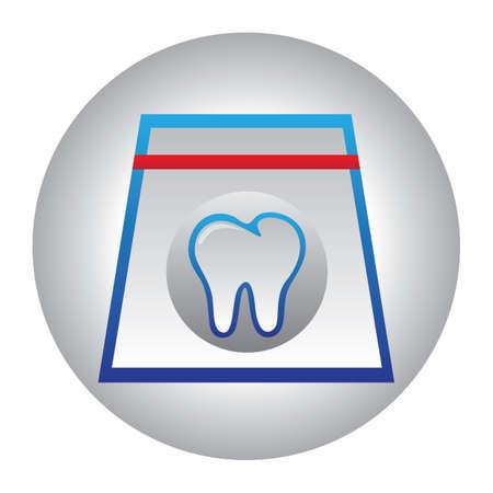 floss: dental floss box Illustration