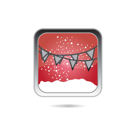 x mas parties: party flags
