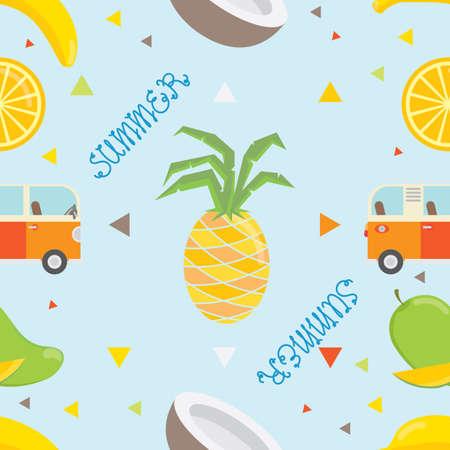 mango slice: summer background