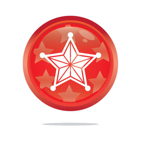 mas: christmas star button