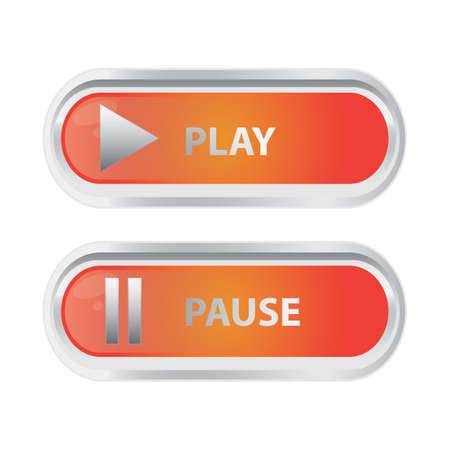 pause: play and pause buttons