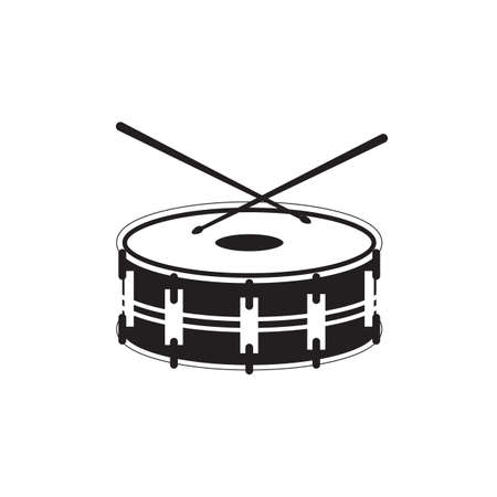 bass drum: silhouette of bass drum