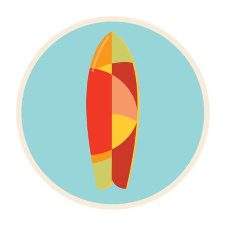 seashores: beach surfboard