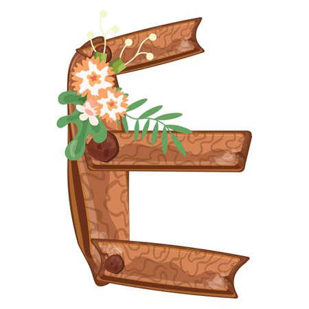 alfabeto correo Ilustración de vector