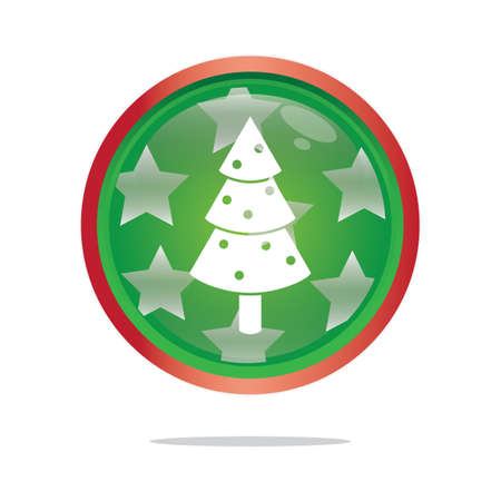 mas: christmas tree button