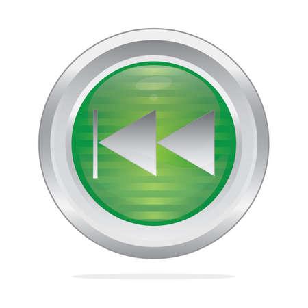 previous: play previous button Illustration