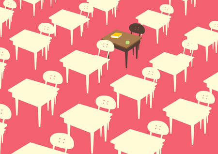 dinning table: dining tables Illustration