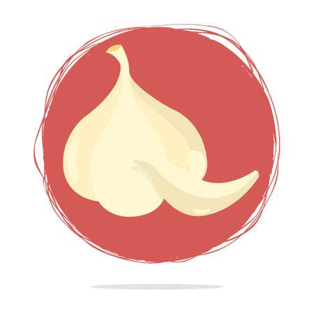 flavour: garlic Illustration