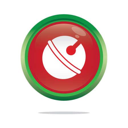 jingle bell: jingle bell button