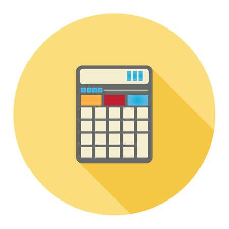 key pad: calculator Illustration