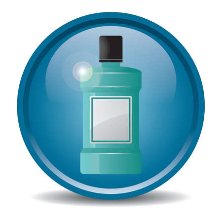 mouthwash Stock Vector - 81469466