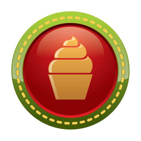 teatime: cupcake button