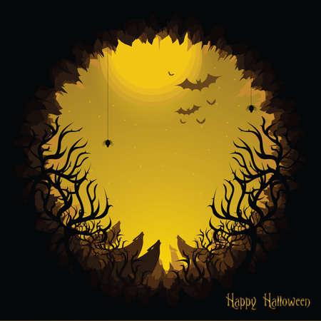 howl: happy halloween Illustration