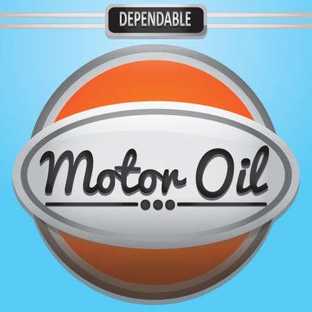 motor oil: motor oil label