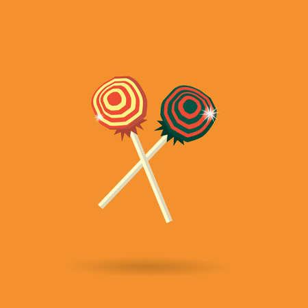 indulgent: lollipop