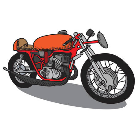 two wheeler: motorcycle