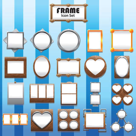 picture frames: collection of picture frames