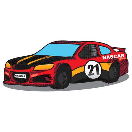 race car Illustration