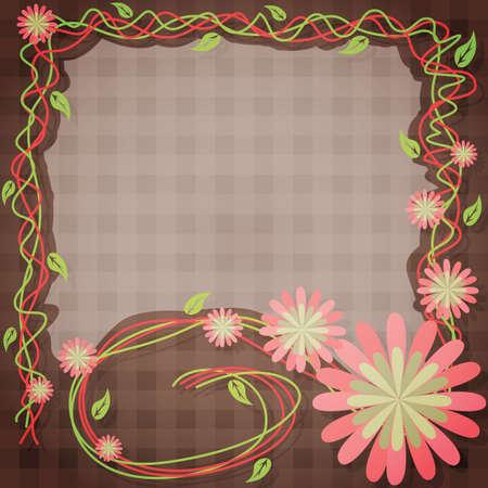 marco de la flor
