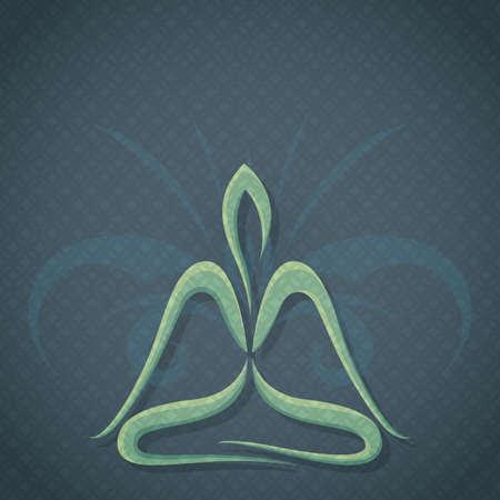lotus pose: lotus pose
