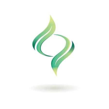 abstract logo Illustration