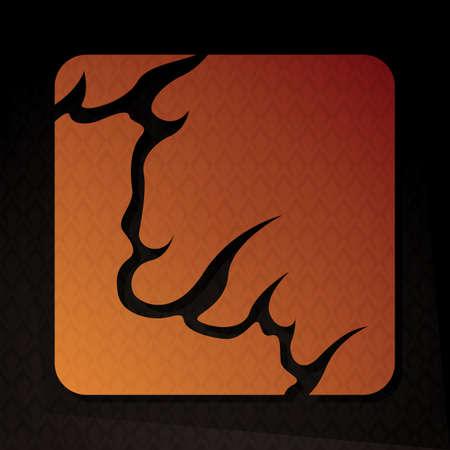 flame letters: alphabet l