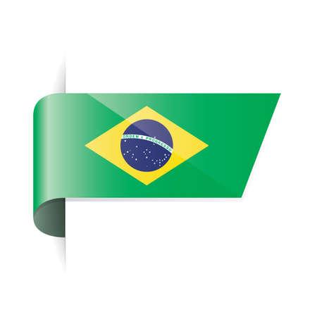 flag: brazil flag