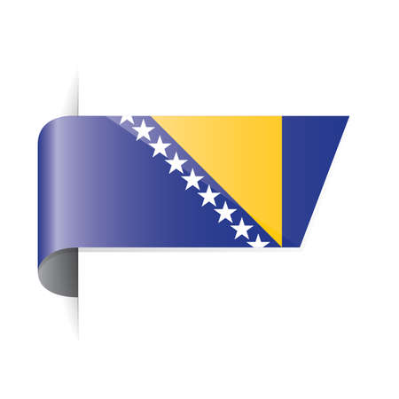 bosnia and herzegovina flag: bosnia and herzegovina flag