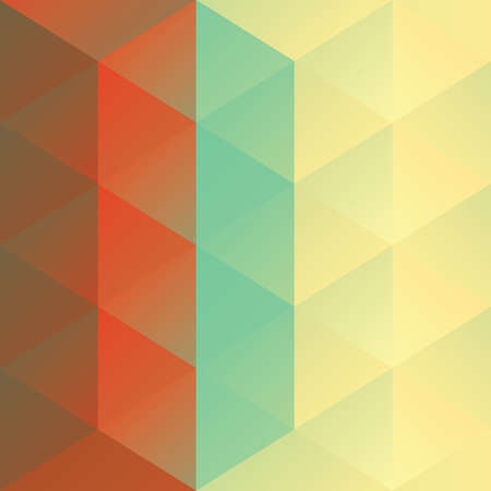 faceted: triangle faceted background Illustration