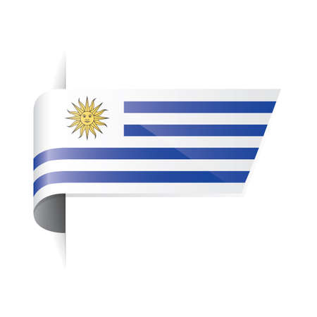 uruguay: uruguay flag Illustration