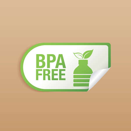 bpa free product label design