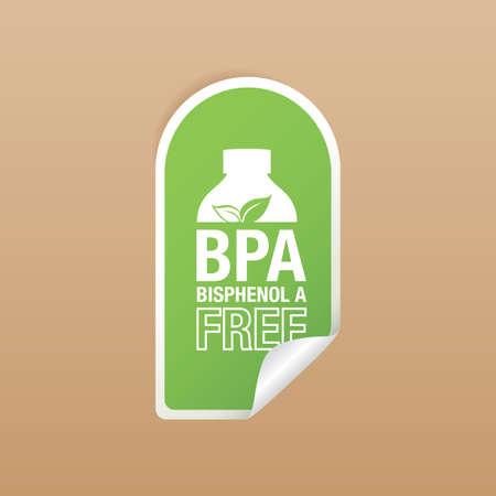 bpa free product label design